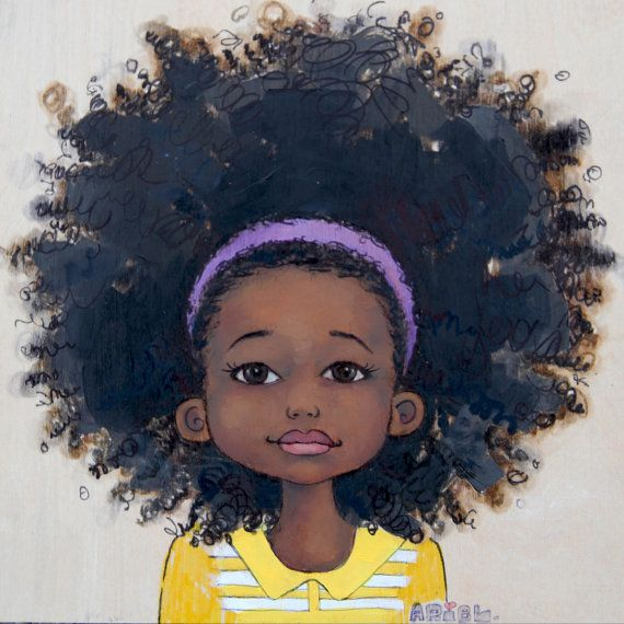 570x570 55 Amazing Black Hair Art Pictures And Paintings