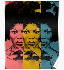 210x230 Afro Woman Drawing Posters Redbubble