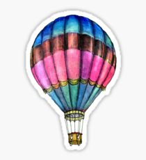 210x230 Hot Air Balloon Drawing Stickers Redbubble