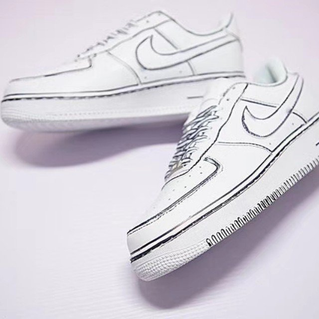 640x640 Joshua Vides X Nike Air Force 1 Low Hand Painted On Carousell