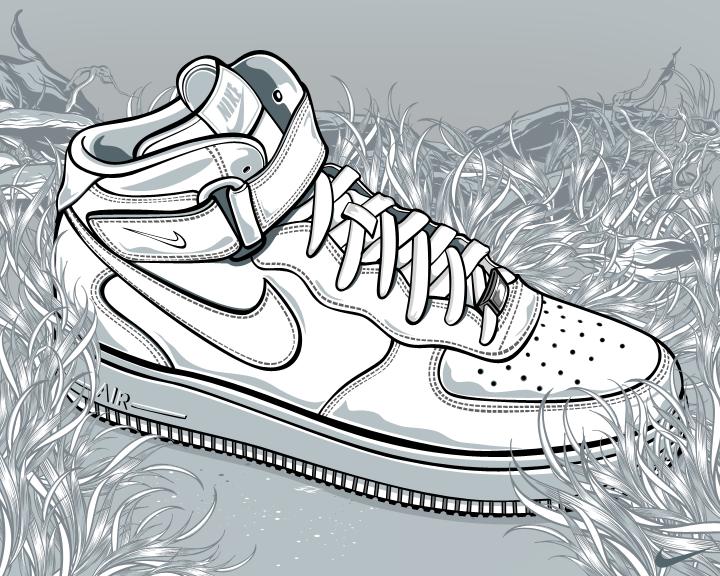 720x576 Nike Air Forcee By Aseo