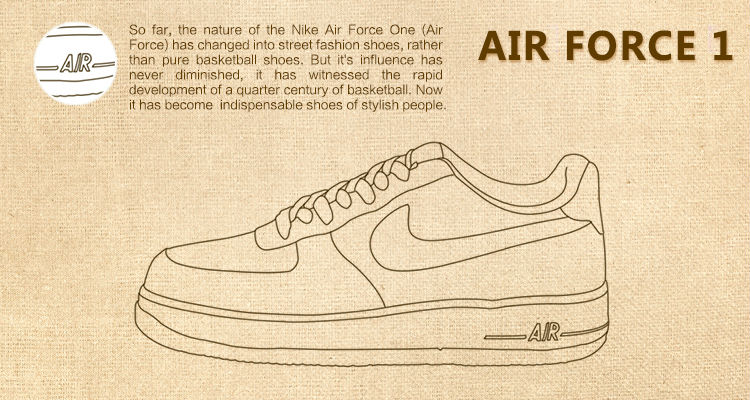 750x400 Original New Arrival 2017 Nike Air Force 1 Men's Skateboarding