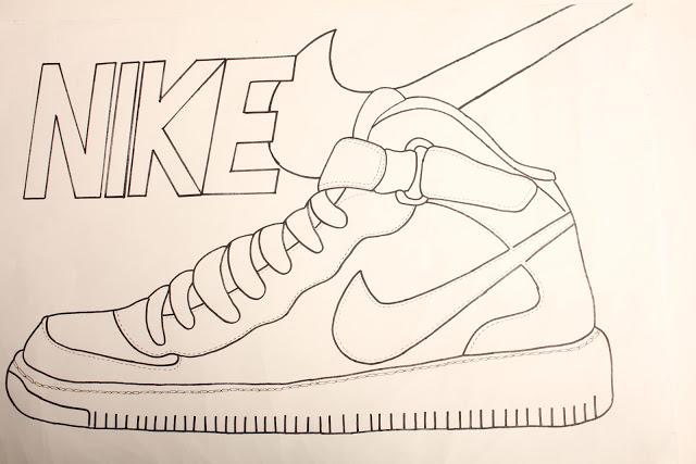 640x427 Nike Air Force 1 Drawing Le Blog Du Sgen Cfdt Pour L'Ash