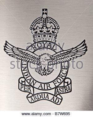 300x376 Emblem Of Indian Air Force India Stock Photo 43168174