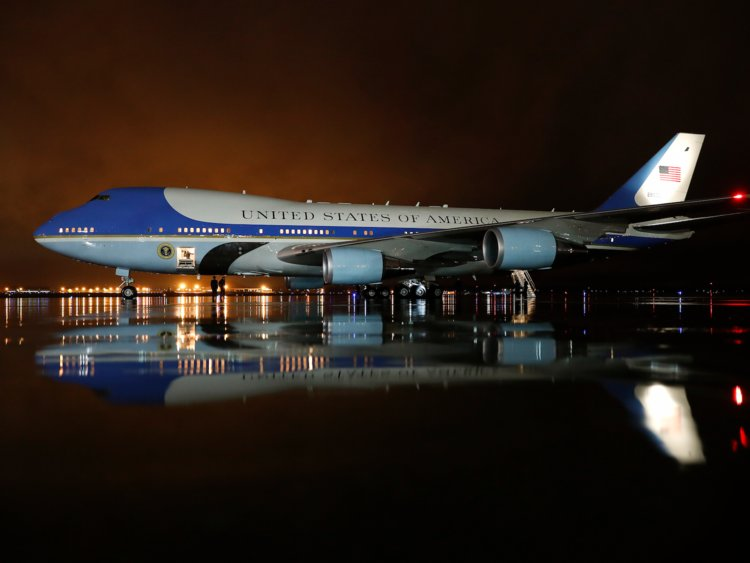 750x563 Air Force One History Photos, Details