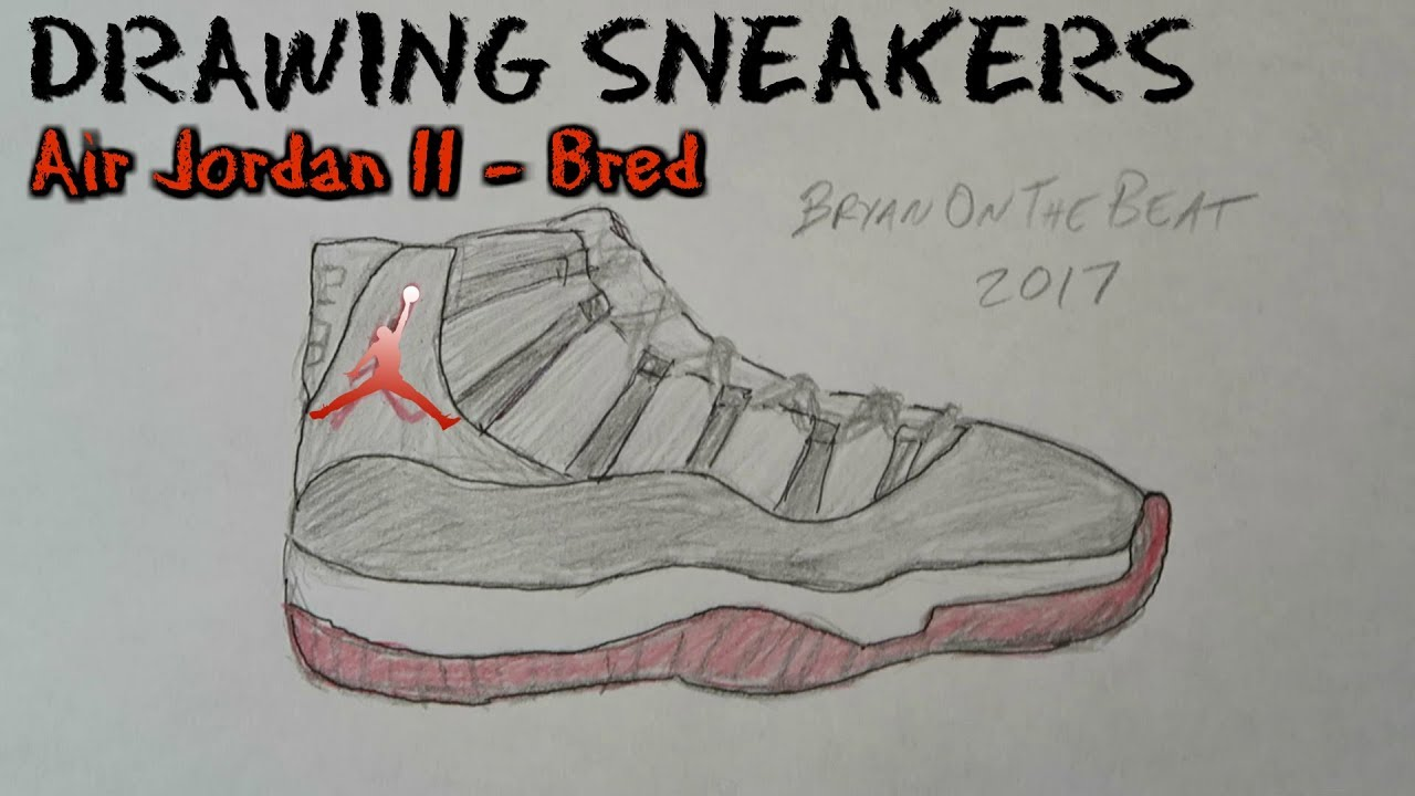 1280x720 Drawing Sneakers