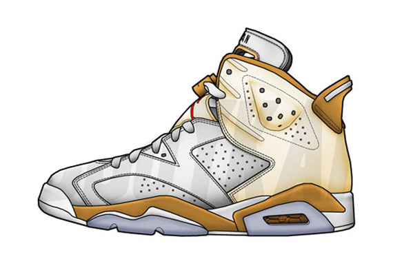 570x376 Air Jordan 2 Drawing Number Six Sneakersale