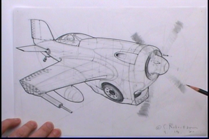 720x480 How To Draw Airplanes The Gnomon Workshop