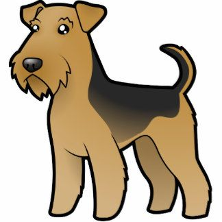 324x324 Image Result For Airedale Terrier Drawings Easy Dog Treat Jar