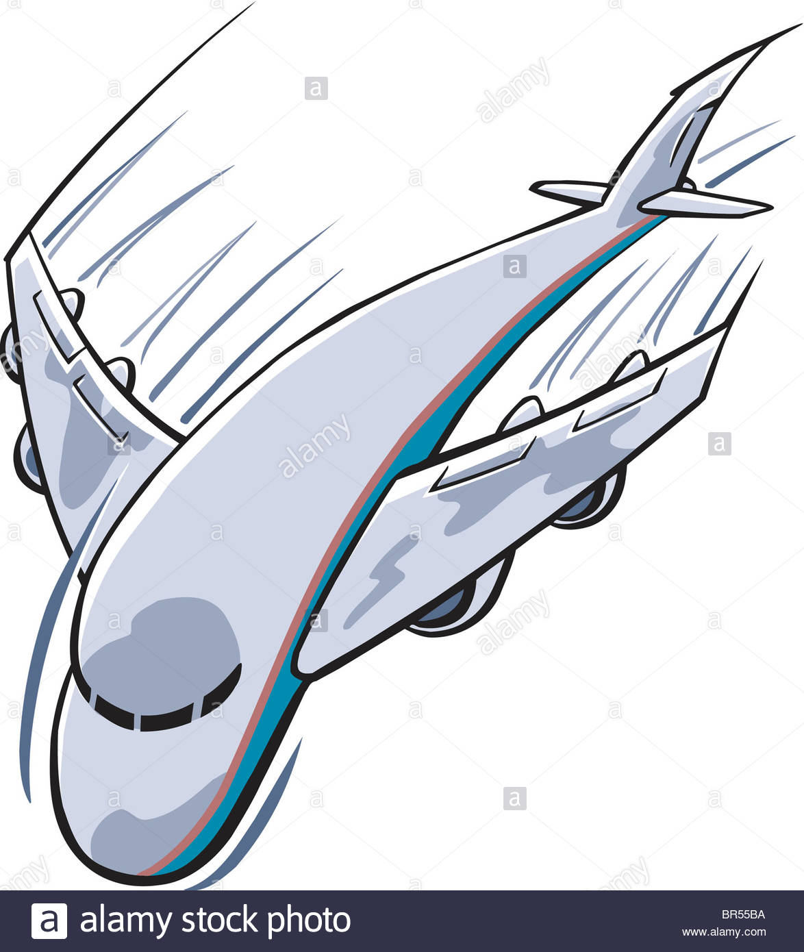 1174x1390 A Cartoon Drawing Of A Fast Airplane Stock Photo 31461454