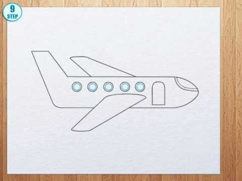 480x360 How To Draw A Plane