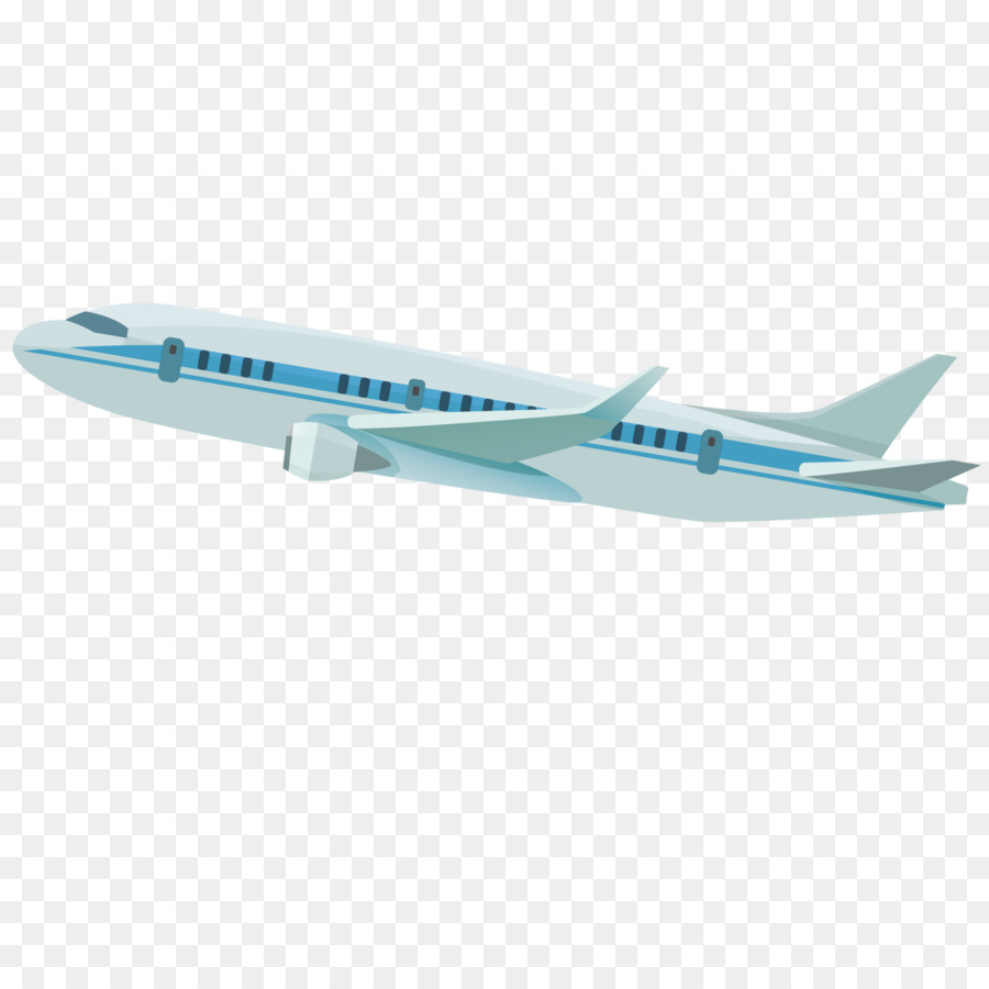 900x900 Airplane Wide Body Aircraft Drawing