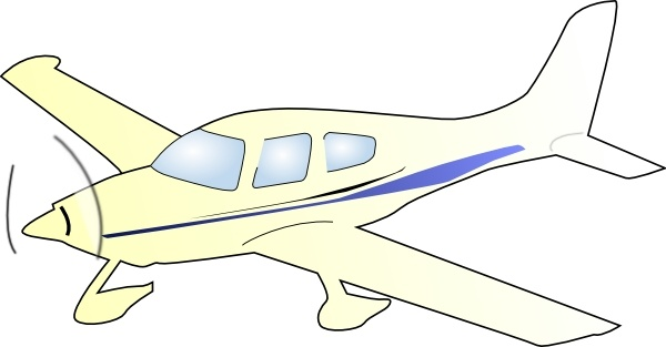 600x313 Cessna Plane Clip Art Free Vector In Open Office Drawing Svg
