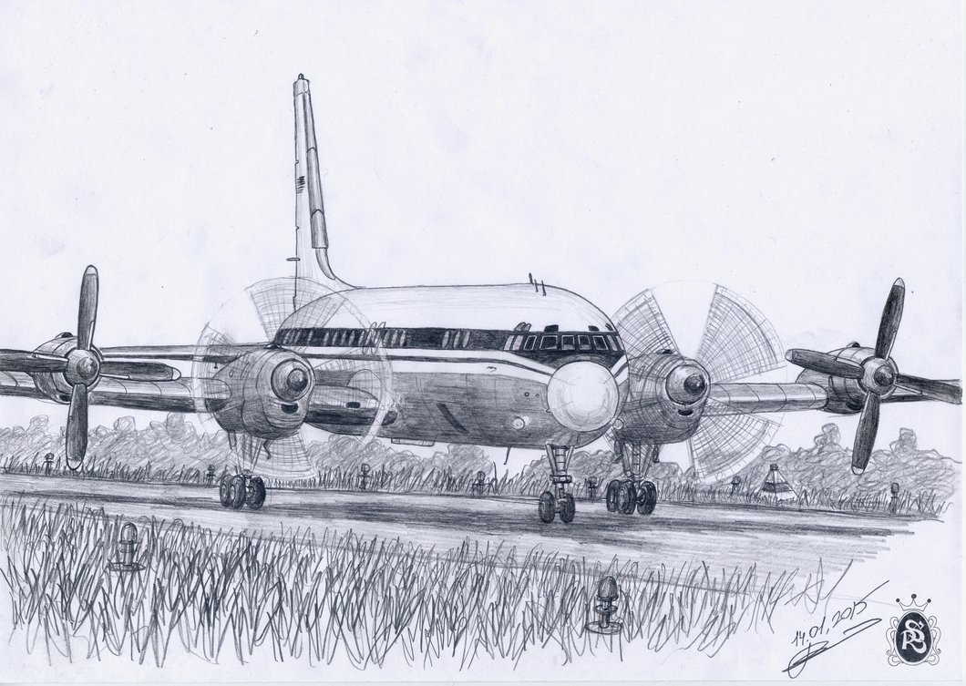 1060x753 Pencil Drawings Of Aircraft By An Amateur Artist English Russia