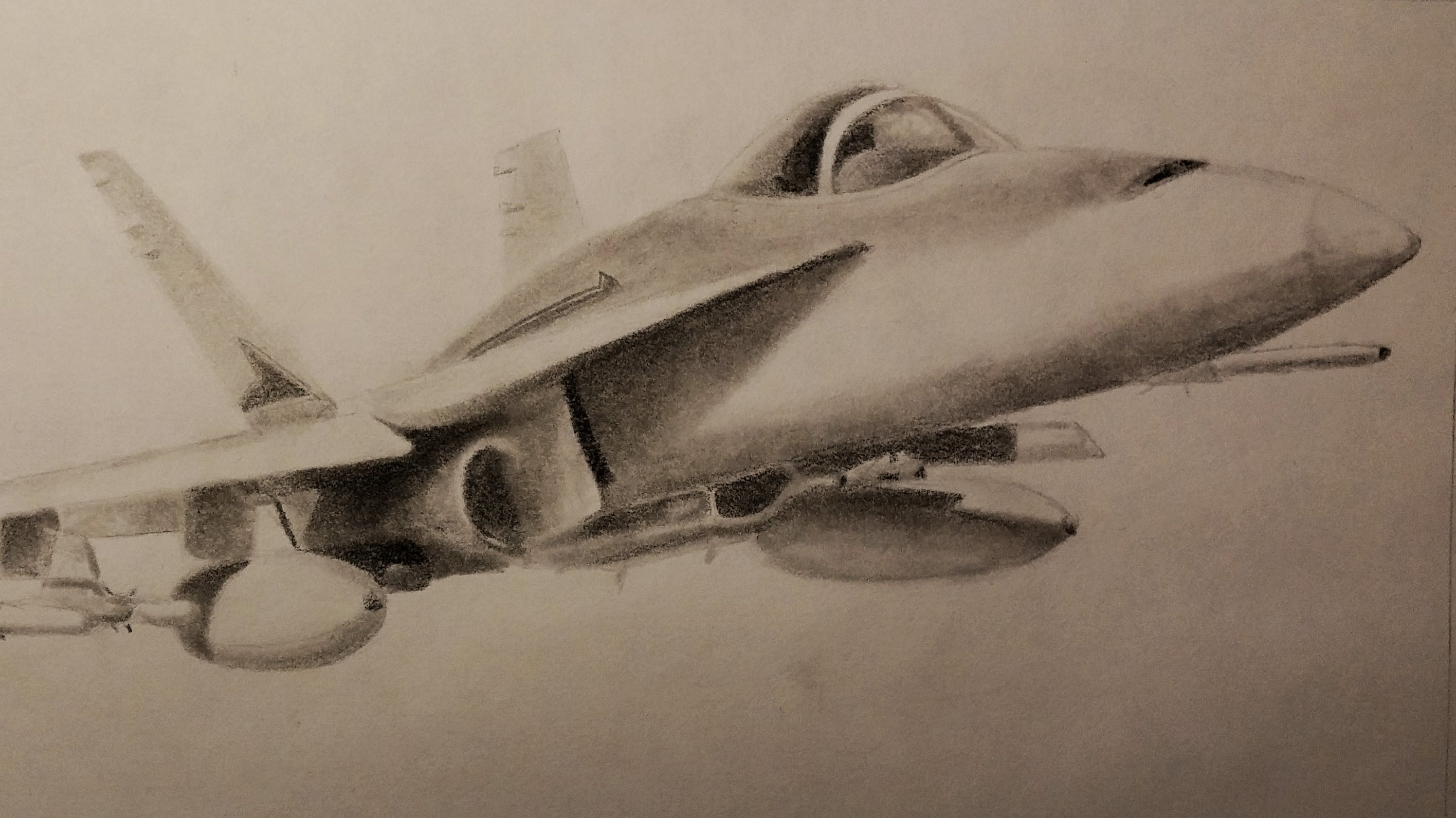 2832x1592 Pencils Sketch Of 3d Airplane Pencils Sketch Of 3d Airplane