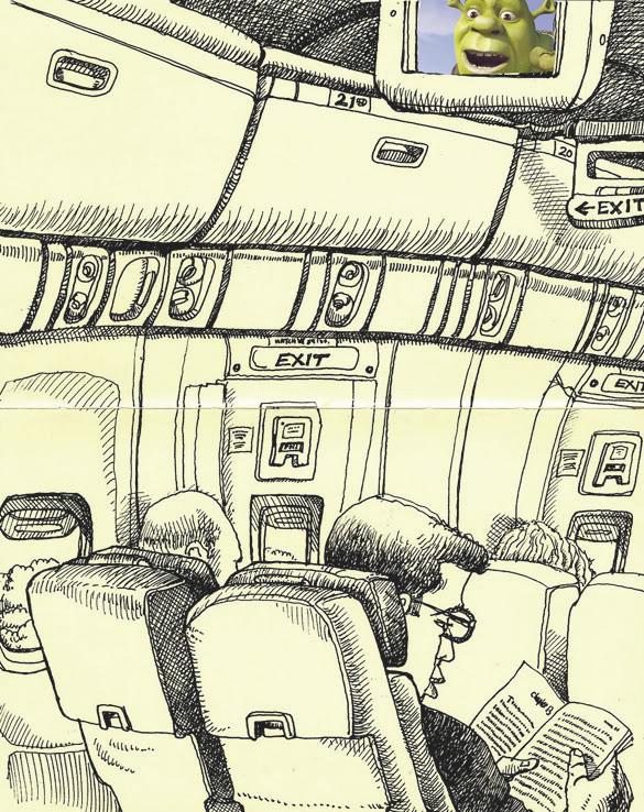 585x738 Tommy Kane's Art Blog Airport Blues