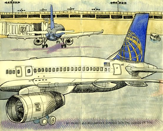 554x444 Airport Drawing