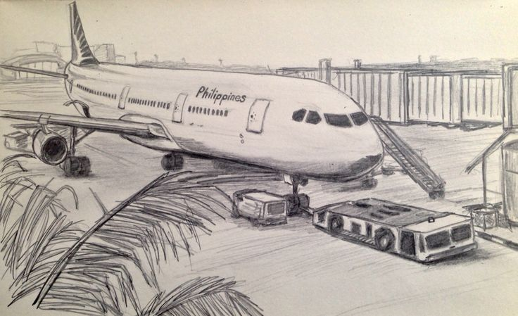 736x449 Airport Drawing