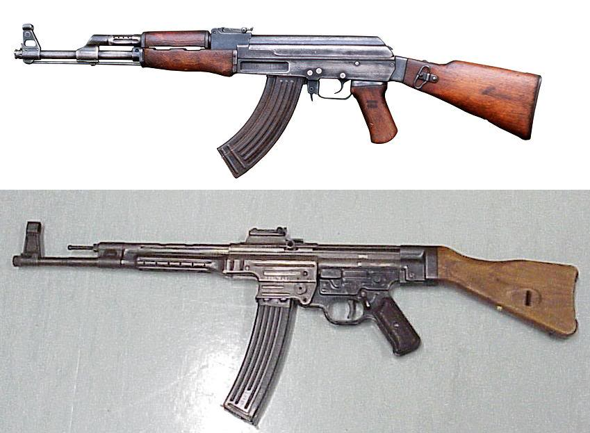 849x623 Ak And Stg Kissing Cousins Forgotten Weapons