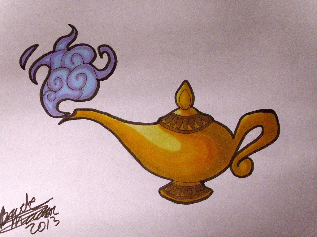 1024x767 Commission Aladdin's Lamp By Silveraruka