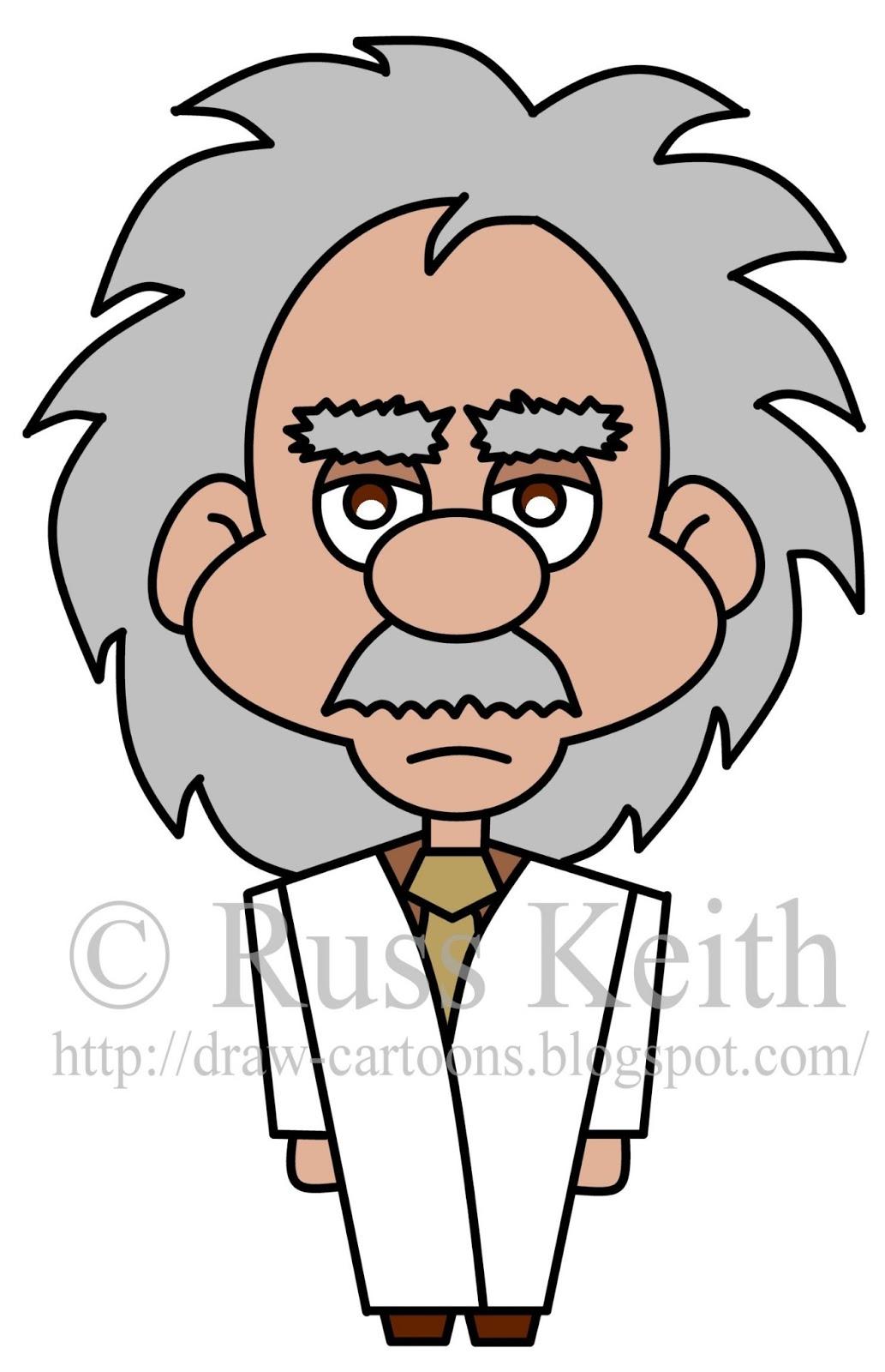 1033x1600 Einstein Cartoon Drawing
