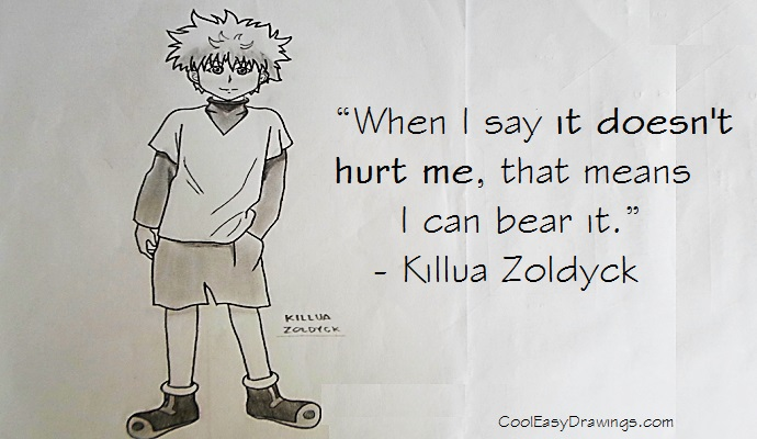 690x400 Simple Drawing Of Detective Conan With Quote About Chances.