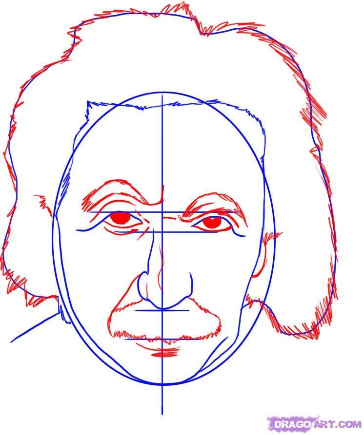 746x893 How To Draw Albert Einstein Step 3 1 000000007121 5.jpg Stuff