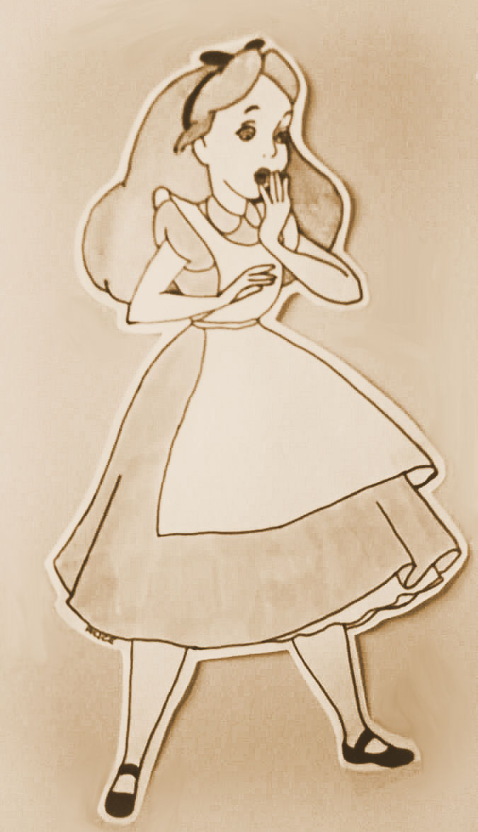 675x1174 Alice Drawing By Pocketxmonster