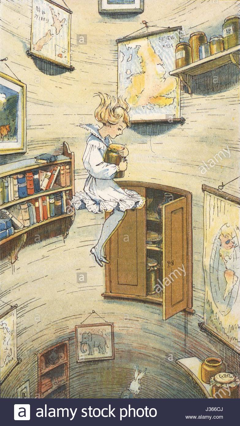 783x1390 Illustration By W.h. Walker Alice In Wonderland (Alice In Stock