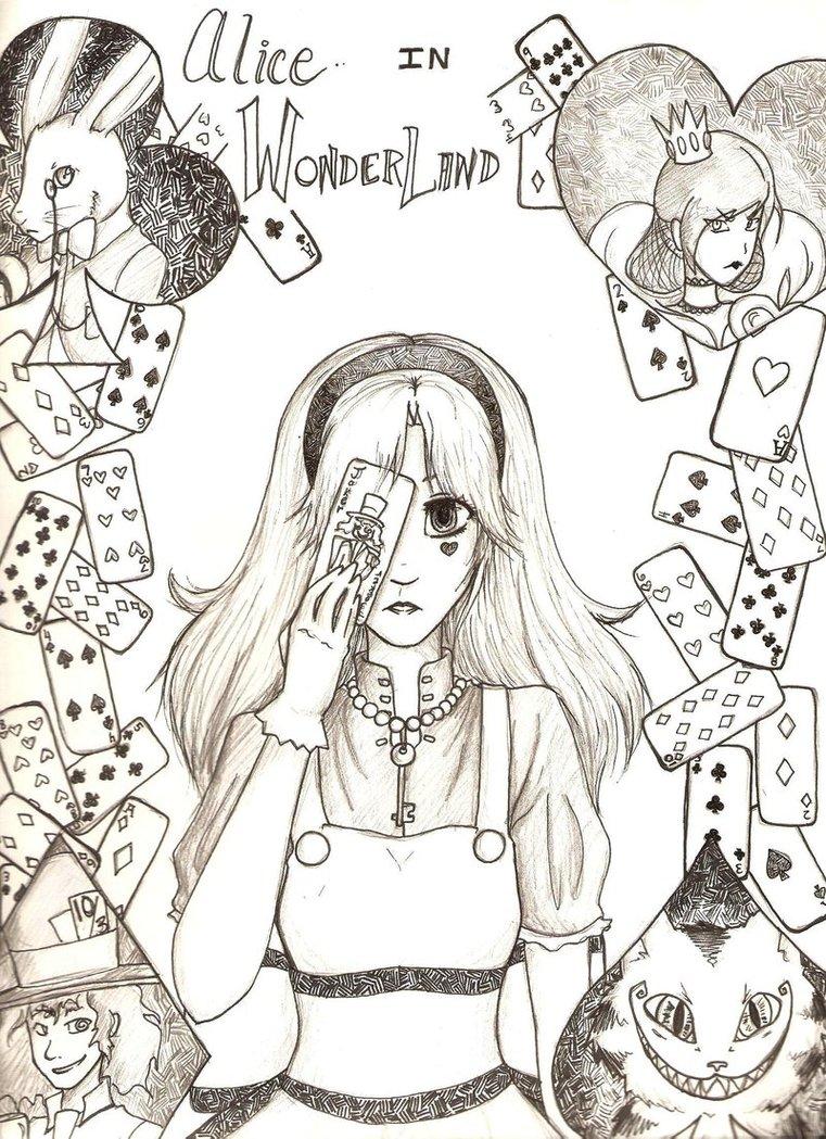 761x1049 Alice In Wonderland By Mess Anime Artist