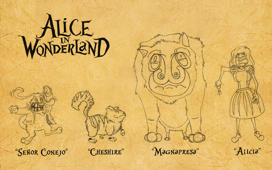 Alice In The Wonderland Drawing At Getdrawings Free Download