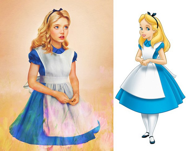 610x488 Alice Alice In Wonderland