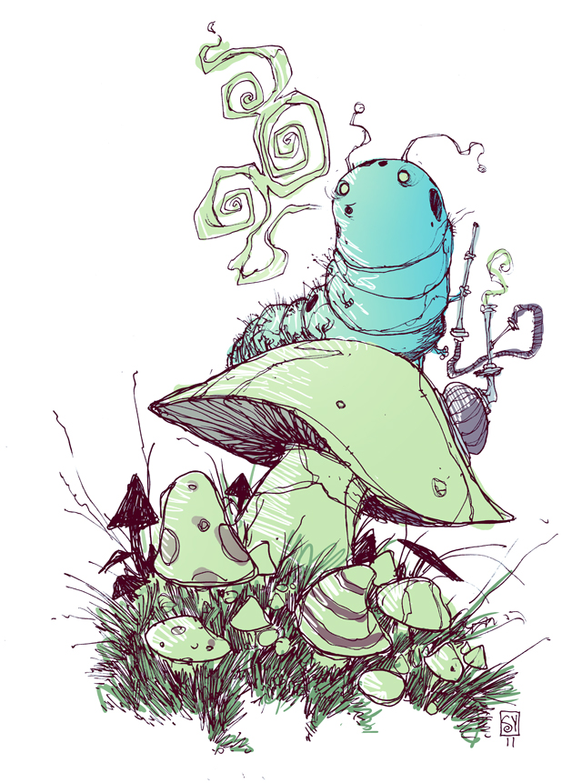 640x861 Alice In Wonderland Illustrations Animation, Illustrations