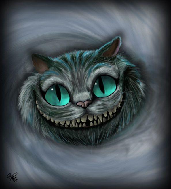 594x656 Cheshire Cat By Spiritwollf On Cheshire