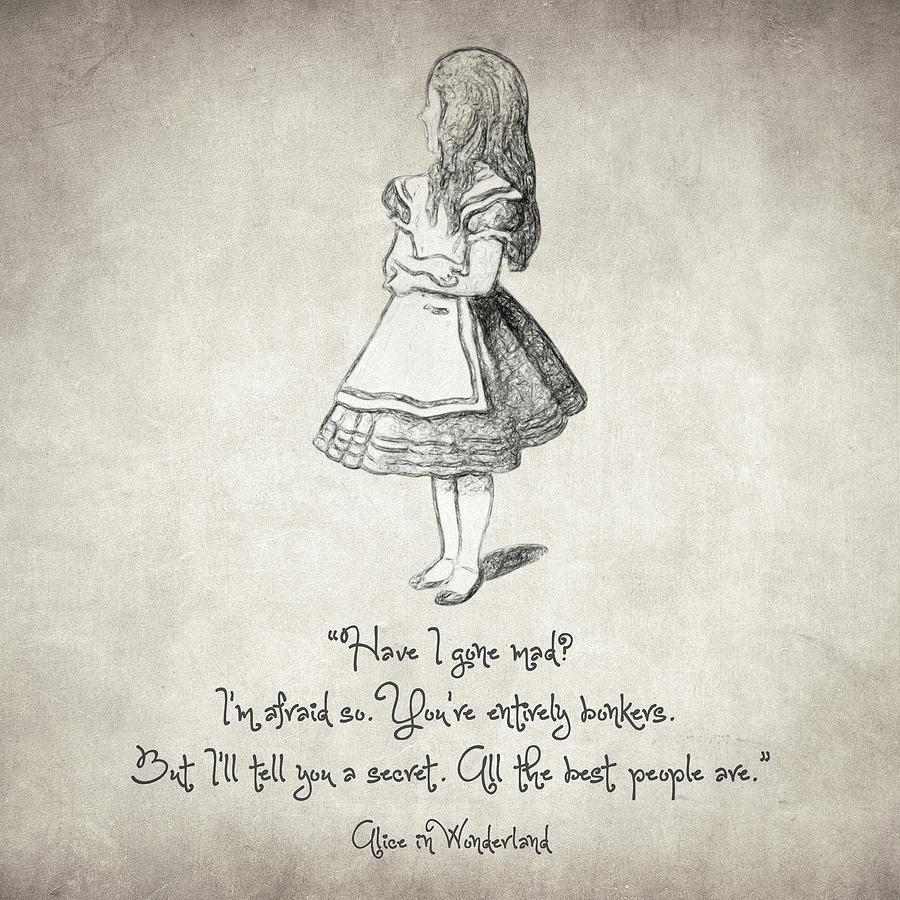 Alice In Wonderland Quotes Tumblr: Alice In Wonderland Drawing Tumblr At GetDrawings.com