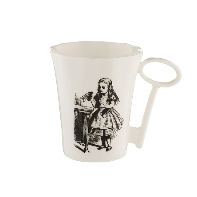 640x640 Alice Wonderland Alice Mug With Key Handle Alice