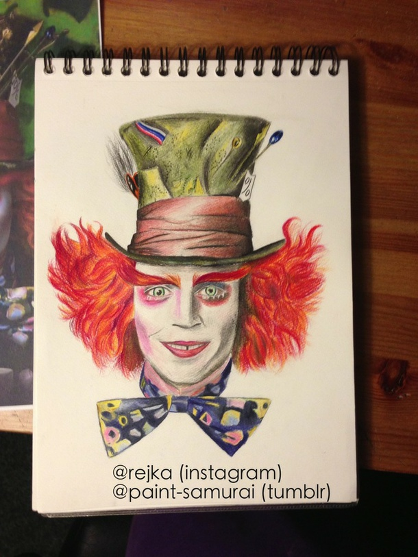 610x813 Mad As A Hatter Via Tumblr
