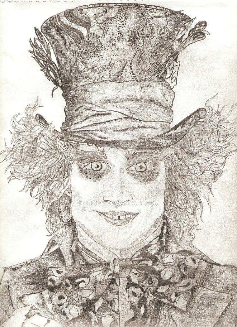 761x1049 Tim Burton's Mad Hatter By Orlie12