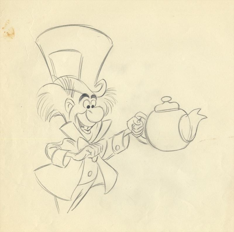 800x794 Disney Alice In Wonderland John