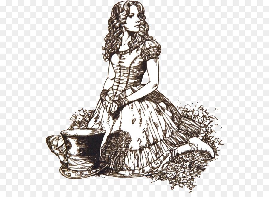 900x660 Alice's Adventures Wonderland White Rabbit Drawing Alice