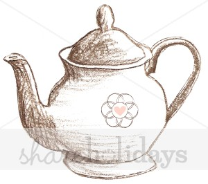 300x266 Sketched Teapot Clipart Party Clipart Amp Backgrounds