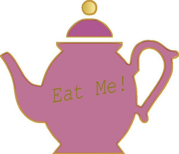 600x518 Teapot Clip Art