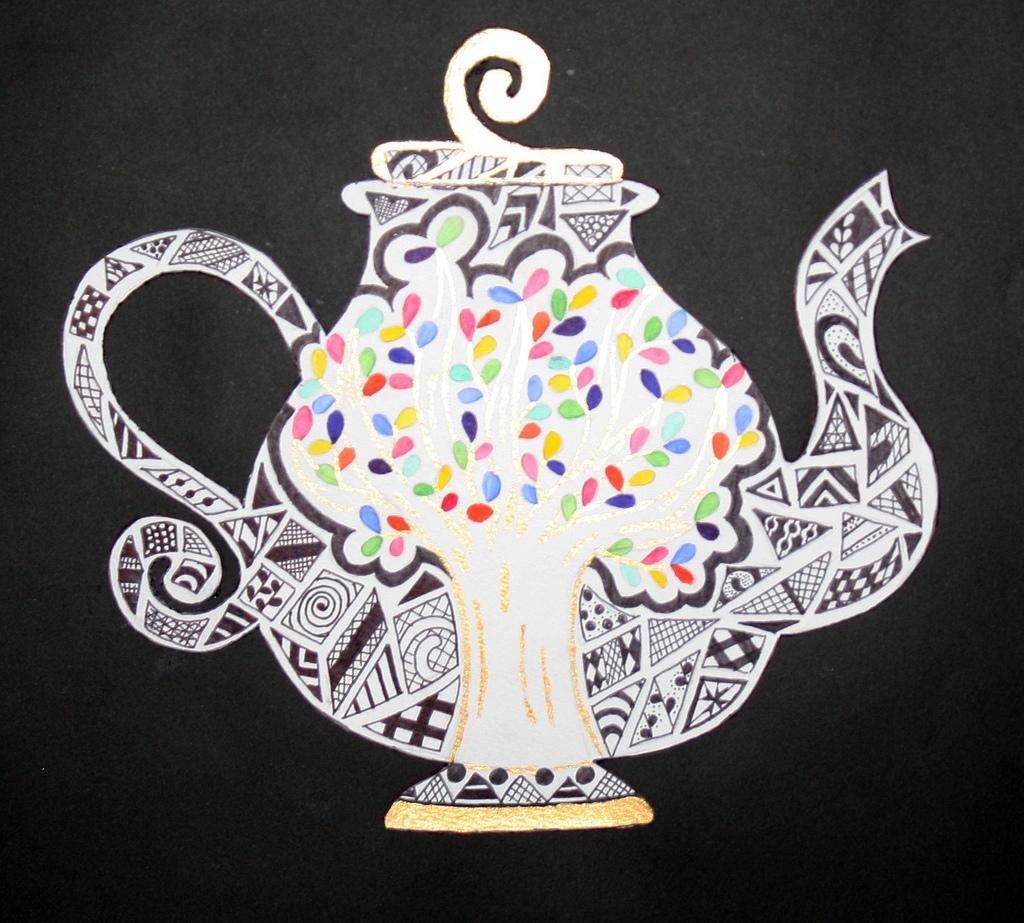 1024x923 Tea Pot Drawing Year 8 Work Sarah Bell Smith