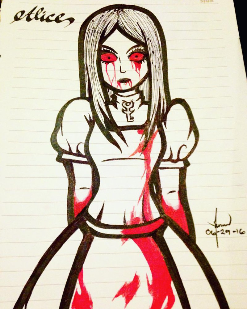 800x1000 Alice Madness Returns Drawing By Lawrielle21