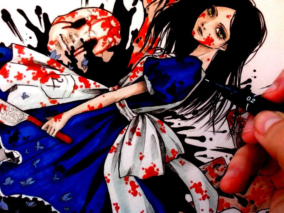 960x720 Alice Madness Returns Draw By The1illustrator