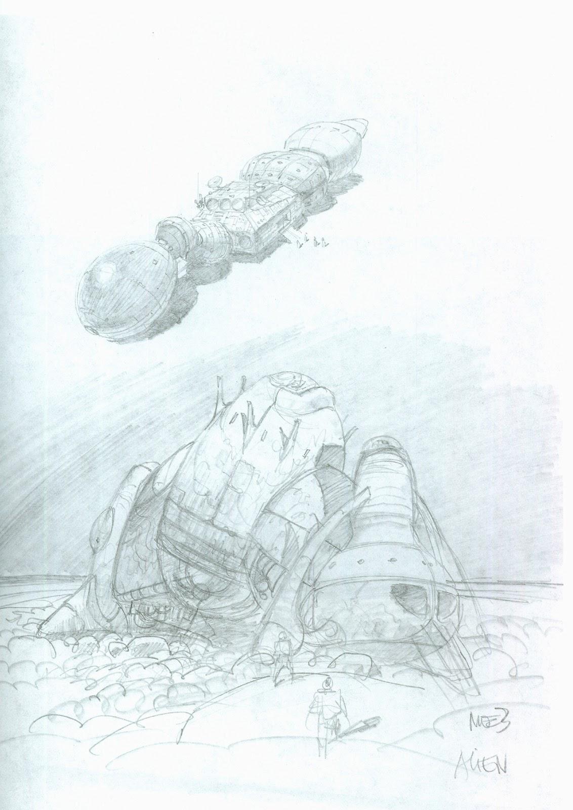 1132x1600 Alien Explorations Alien Moebius' Alien Spaceship Concepts