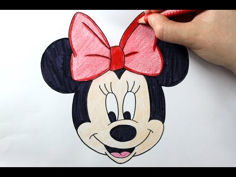 480x360 How To Draw Minnie Mouse