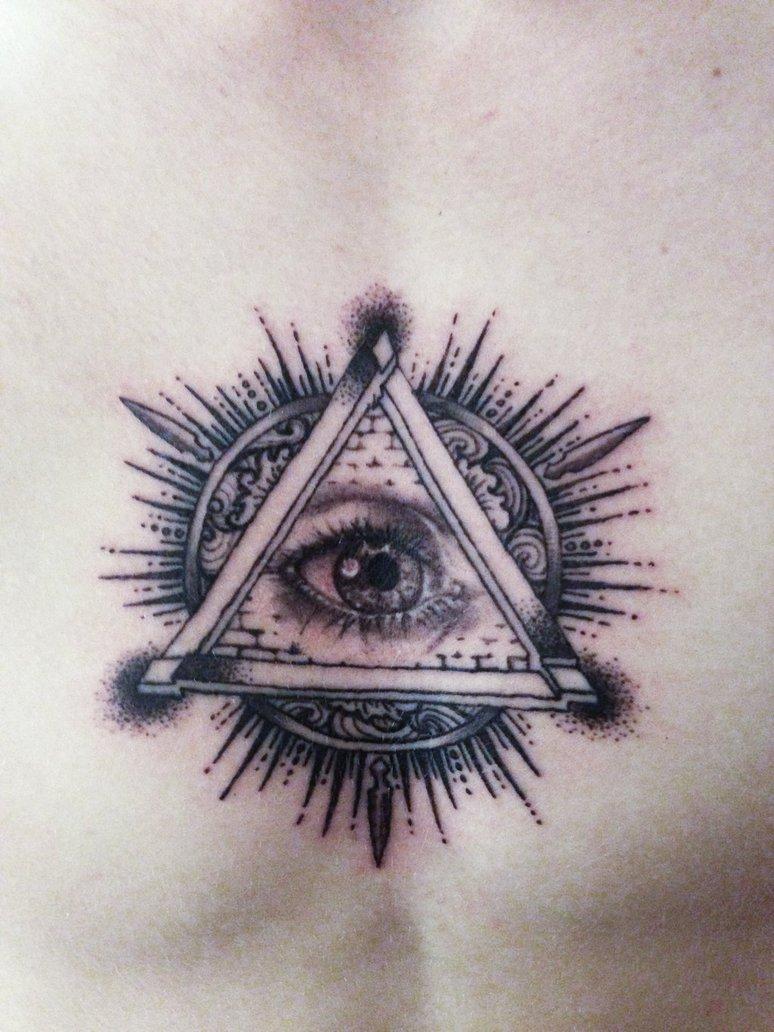 774x1032 All Seeing Eye Tattoo By Mumitrold