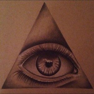300x300 All Seeing Eye Drawing Tattoo, Flower Tattoos And Tatto