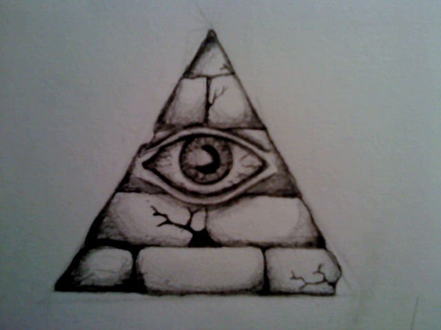 640x480 All Seeing Eye By Sk3tch75